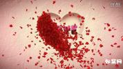 会声会影X8浪漫模板 梦幻温馨的爱 LOVE婚纱电子相册婚