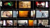 AE模板 复古照片墙摄影展示 胶卷胶片 相框展示视频素材模板