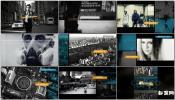 城市时尚节奏艺术摄影纪录片 文字时尚包装图文展示AE模板