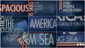 政治新闻标题字幕动画设计模板文本文字动画重色调沉稳AE