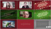 新年祝福时尚企业节日活动年会问候视频包装设计AE模板免费