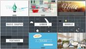 300款二维动画特效综合设计模板 Profession卡通动画游戏特效