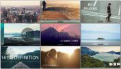 3D滚动视差现代风格设计幻灯片 Modern Parallax Slideshow
