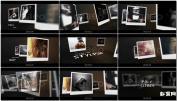 成长相册复古精美悬挂摄影幻灯片 Poly SlidesAE模板免费下载