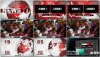 大气红色电视新闻广播电视新闻栏目包装设计模板 New 2AE模板