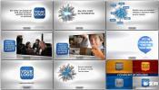 手指触摸动操控商业促销视频演示LOGO产品AE模板 Business Promo