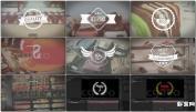 时尚复古徽章文字排版设计模板文字 婚礼 LOGOSale Badges Pack