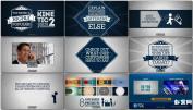 公司产品宣传商业宣传推广动画设计AE模板 Kinetic 2 Promo