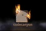 AE模板-游戏火焰燃烧Logo文字开场 Fire Logo Reveal