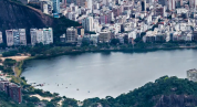 超清海边城市唯美旅行风光延时拍摄地理景点视频素材