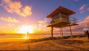 4K澳大利亚的黄金海岸唯美旅行风光延时拍摄地理景点视频素