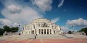 明斯克 城市旅行风景宣传视频城市唯美旅行风光延时拍摄