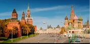 莫斯科超清唯美城市宣传旅行风光延时拍摄地理景点视频素