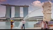 新加坡超清唯美城市宣传旅行风光延时拍摄地理景点视频素