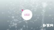 AE模板-6个漂亮粒子信号损坏Logo展示 Logo Ident Reveal Pack