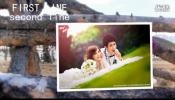 会声会影X7公园实拍背景唯美图片展示浪漫乡村风情相册模板