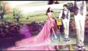 会声会影X9时尚简洁唯美婚礼电子浪漫光斑装饰婚庆相册模板