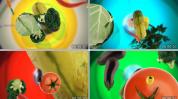 燃烧吧蔬菜 水果 广告影视视频背景素材