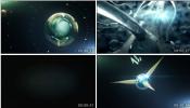 科技分子DNA 未来高科技展示视频素材