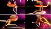 3D倒计时 红色光线 大气震撼10秒倒计时 晚会 年会 视频 素材