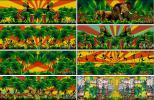热带风情 草裙舞 非洲鼓 椰树 印第安 大象唯美 晚会 视频素