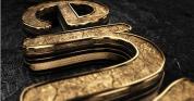 震撼大气霸气3D金属文字logo演绎动画AE模版,Black Gold Logo V3