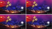 l288中国梦歌曲舞蹈晚会国庆文艺汇演高清视频素背景素材