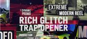 AE模板-城市生活纪录片信号损坏片头开场 Rich Glitch Trap Opener