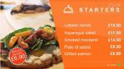 AE模板-餐厅酒店美食菜单介绍 广告制作价格 Modern Menu