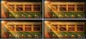 教室课堂动态素材 校园风晚会节目 LED背景视频素材