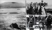 2次世界打大战 法西斯周恩来投降日本广岛原子弹抗战史料视