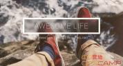 AE模板-毛玻璃切换转场时尚图片幻灯片切换展示 Awesome Life