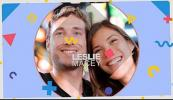 AE模板-时尚卡通人物介绍展示片头 Awesome People Slideshow