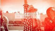 AE模板-夏日旅游度假照片视频展示片头 Summer Holiday Travel