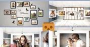 AE模板-悬挂相册360全景虚拟展示 VR 360 Photo Gallery
