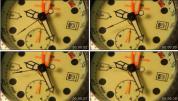 YT08.钟表时间转动时间流逝 视频素材