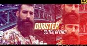 AE模板-动感时尚极限运动城市宣传片开场 Dubstep Glitch Opener –