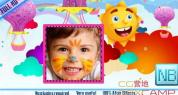 AE模板-卡通可爱儿童照片相册展示 Sweet memories