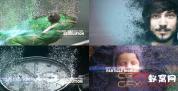 AE模板-图片视频粒子破碎消散宣传片片头 Particle World Slideshow