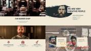 AE模板-理发店商店商品图片信息介绍包装 Barber Shop Presentation