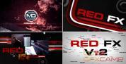 AE模板-动感音乐文字排版片头包装 Red FX v.2