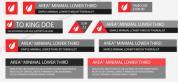 干净简洁的公司会社字幕导条AE工程,2色入 角标