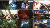 24种不同的画面转场过渡效果AE工程