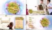 可爱又有趣的儿童栏目或频道整体包装AE模板