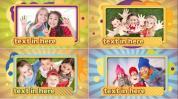 AE模板 活泼清新的儿童家庭成长相册