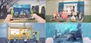 强大的3D弹出式书本场景动画创建工具AE模板