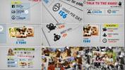 AE工程时尚现代科学生日海报的动态排版过程展示