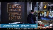 AE模板-实拍地铁广告文字图片跟踪片头 Urban Realism – Subway Int
