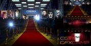 AE模板-红地毯颁奖图片展示片头 Red Carpet 3