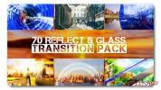 AE模板-70组玻璃反射透明图形转场动画 Transition Pack eflect N Glas